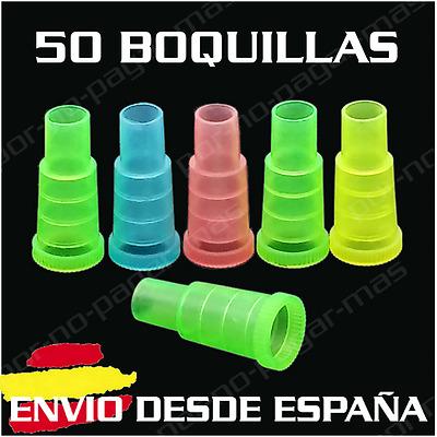 Pack De 50 Boquillas Desechables Para Cachimba Shisha Hookah Ebay