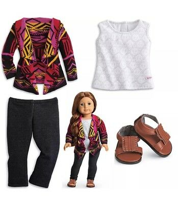 American Girl Doll Saige/'s Sweater Shirt Clothes for Girls Size xs//small New