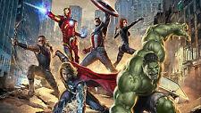 Poster 42x24 cm Vengadores Avengers 1 Capitan America Hulk Iron Man Thor 01