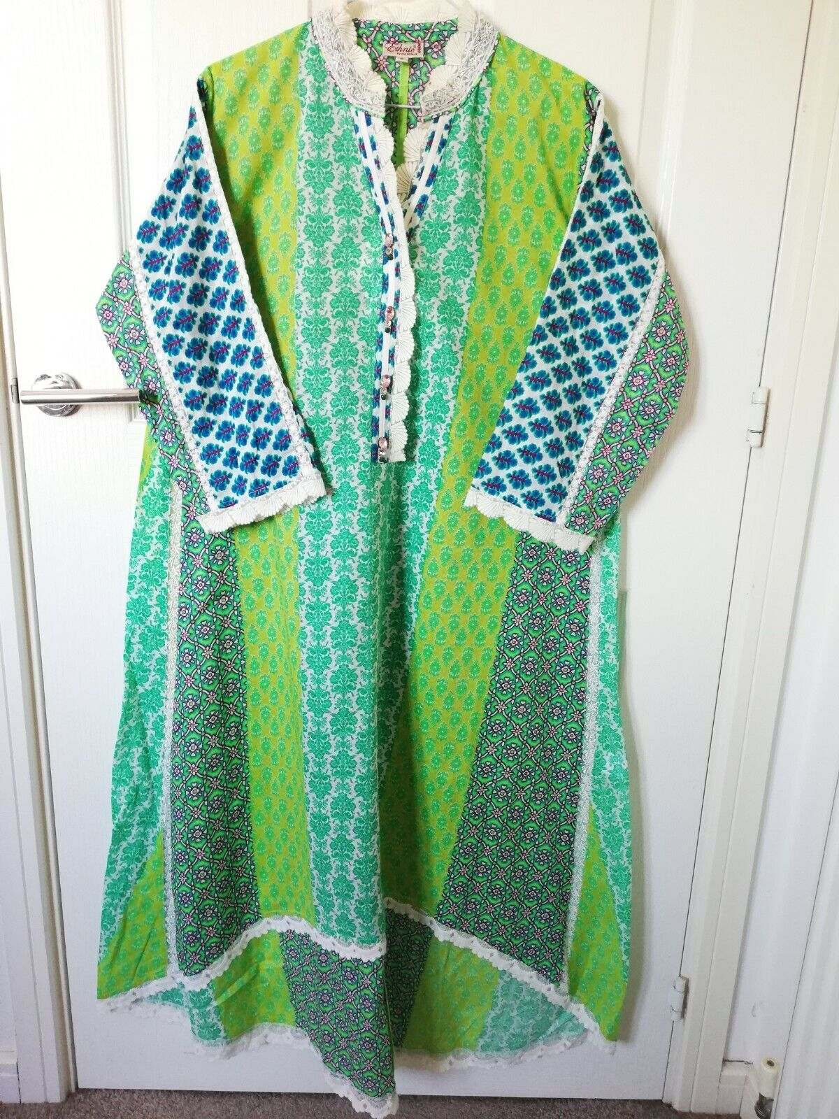 Maria b original stitched. Agha Noor. Limelight. Sapphire. Ethnic long shirt.