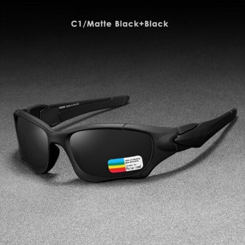 Sports Polarized Sunglasses Curve Cutting Frame Stress-Resistant Glasses Spectat