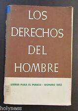 LIBROS PARA EL PUEBLO / LOS DERECHOS DEL HOMBRE / DIVEDCO PUERTO RICO/ 1968 #10