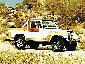 Jeep Scrambler CJ-8 1981
