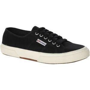 Superga-2750-Cotu-Unisex-Scarpe-Shoe-Nero-Bianco-Tutte-le-Taglie