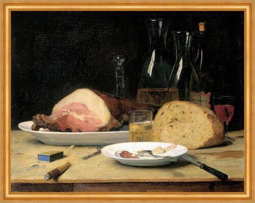 Stillleben Unmässigkeit Albert Anker 1896 Schweizer Maler LW H A2 0615