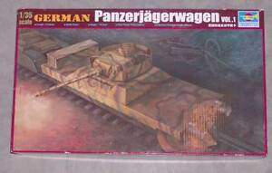 Trumpeter-1-35-368-German-Panzerjagerwagen-Vol-1-New