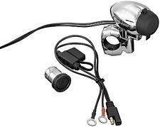 Kuryakyn 1476 Electrical Power Point / Universal / Fits 1 1/4 Handle Bars
