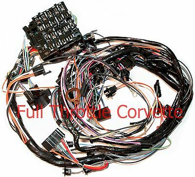 1976 Corvette Dash Wiring Harness for Vettes With Manual 4 ...