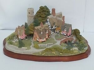 Lilliput-Lane-Collectibles-1991-Raro-saxham-St-Edmonds