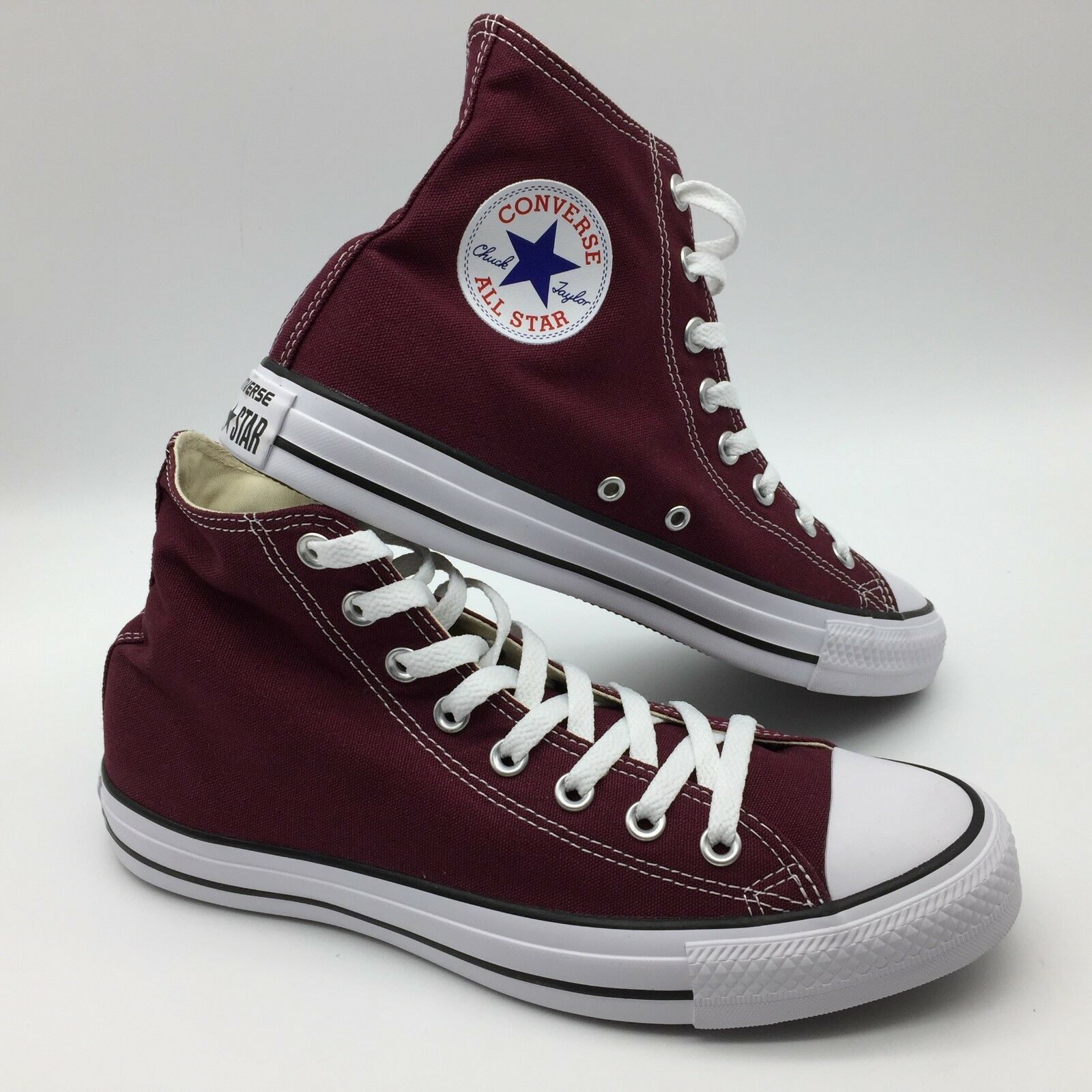 Converse Men Women's CT Hi Chuck Taylor Dark Red
