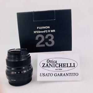 Fujifilm-Fujinon-XF-23mm-F-2-R-WR-Obiettivo-Grandangolare-Usato