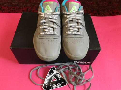 Palace Sneakers Sticker Reebok Collab Grigio ginnastica Uk Allenamento 6 club X da per Laces 4wPvTxqr4