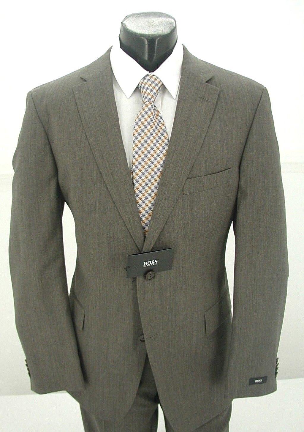 Hugo Boss Taupe 2B Classic Fit Suit Pasolini 2 / Movie 2 329.99  46R