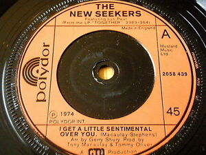 The New Seekers I Get A Little Sentimental Over You 7