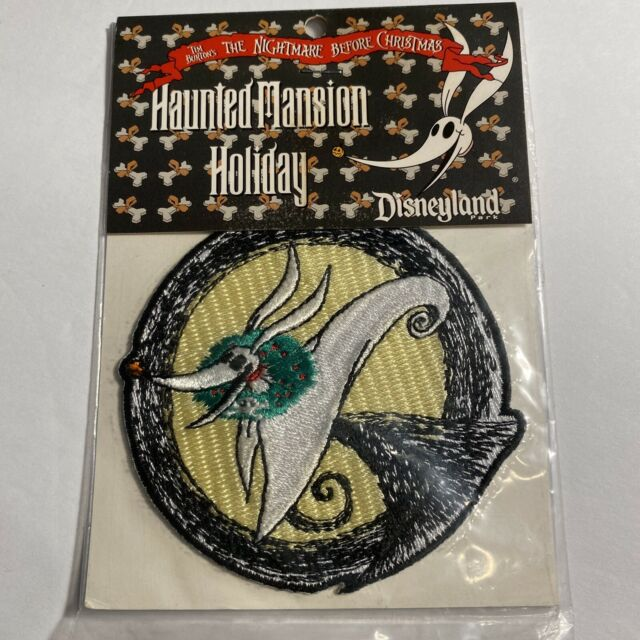 Disneyland Disney ZERO Patch Haunted Mansion Nightmare