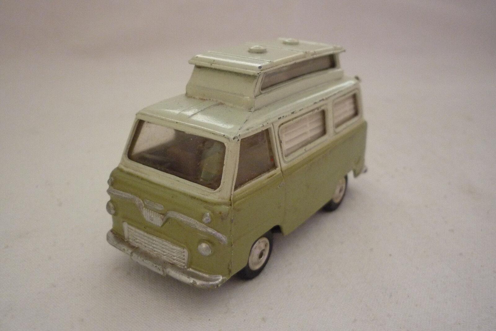 Corgi Toys-Vintage Metal Model - 420-Ford Thames-caravan - (corgi