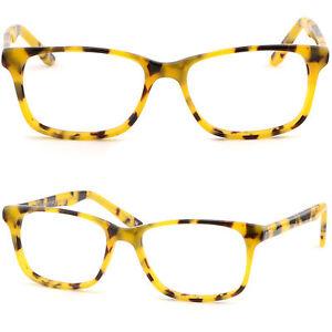 Yellow Plastic Frame Sunglasses : Thin Light Plastic Frame Prescription Glasses RX ...