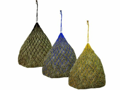 """Derby Originals 42"""" Hot to Trot Slow Feed Soft Mesh Poly Rope Hanging Hay Net"""