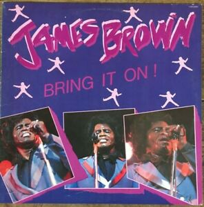 """JAMES BROWN """"Bring It On"""" LP 1983 Augusta Song US Sleeve: EX / Record: NM"""