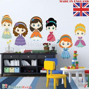 Carino-Vivaio-Adesivi-Murali-belle-ragazze-Baby-per-Bambini-Ragazzi-Camera-da-letto-Decor