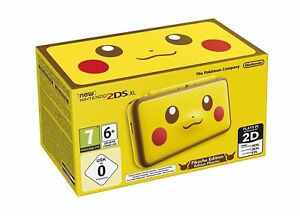 2DS-XL-Yellow-Pikachu-Edition-Console-Nintendo-2DS-Brand-New