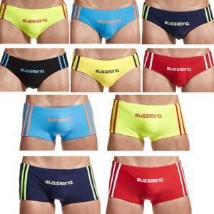 Men-Swim-Brief-Swims-Boxer-Trunks-Swimming-Suit-Beach-Wear-Board-Shorts-Swimwear