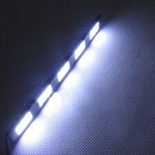 2x 12V10W COB 5SMD LED DRL Daytime Running Light Driving Daylight Fog Light Lamp
