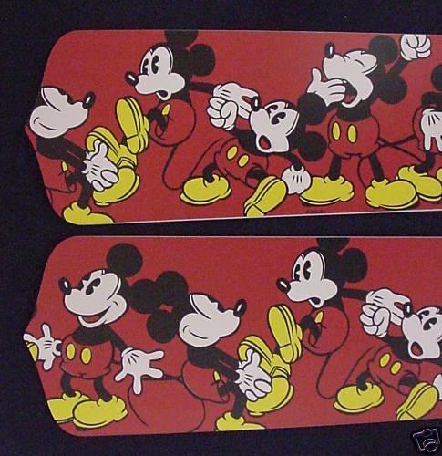 """New MICKEY MOUSE Disney Ceiling Fan 52/"""""""