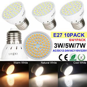 E27-LED-Light-Bulbs-3W-5W-7W-Spotlight-Lamps-Energy-Saving-Bulb-1-4-6-10-PACK-UK