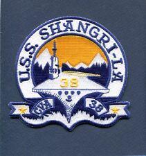 0fab70f8 USS Shangri La CVS 38 US Navy Ship Patch