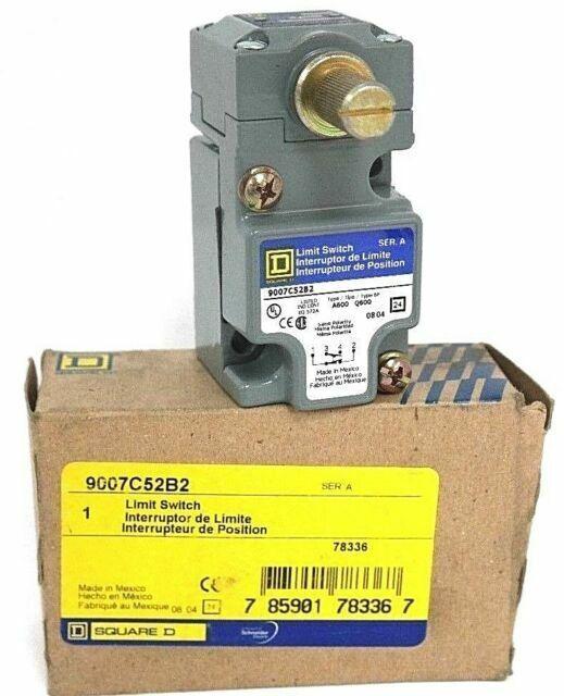 Square D 9007C54B2 Heavy Duty Limit Switch Unit for sale online