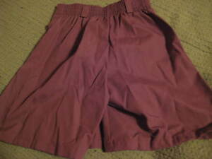 NWT-Girl-Scouts-of-America-Brownie-Skorts-NOS