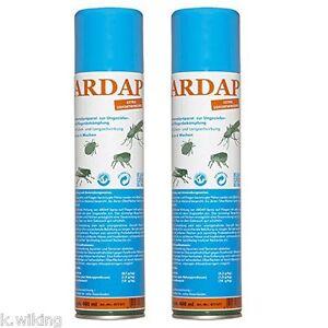 quiko ardap 2 x 400ml ungezieferspray spray gegen ameisen fliegen spinnen ebay. Black Bedroom Furniture Sets. Home Design Ideas