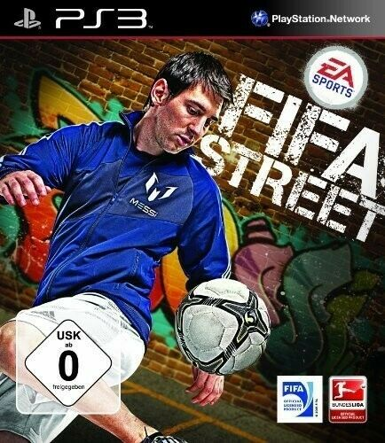 PS3 / Sony Playstation 3 - FIFA Street [Standard] AL/ING en el embalaje usado