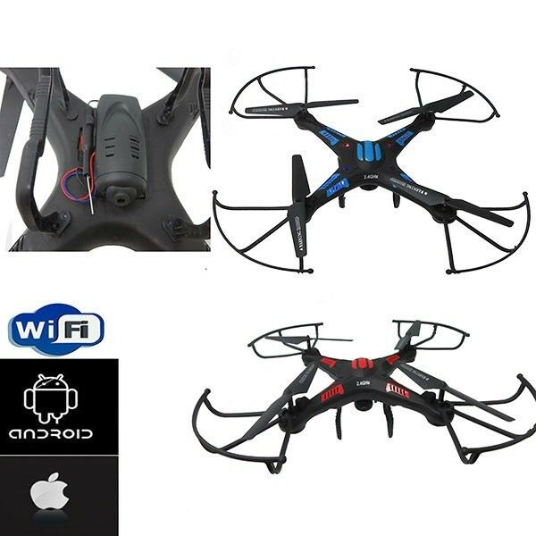 RC QUADCOPTER DRONE K83W WIFI Camera Real Time Drones Built in Gyro Night Flight