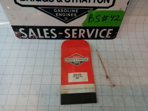 FREE S/&H! Briggs /& Stratton New Old Stock 261663 Link Shaft Linkage Rod Leaver
