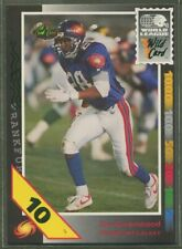 Condition 1992 Wild Card WLAF Football #8 Darryl Harris Montreal Machine Official World League of American Football Trading Card From The Wild Card Company in Raw NM or Better
