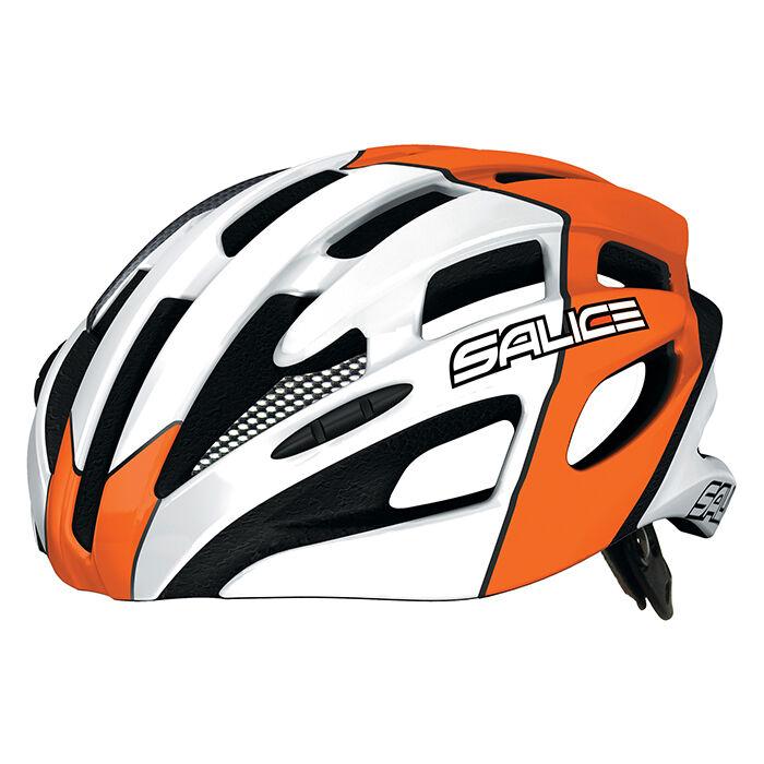 Casco de Bicicleta Salice Mod.spin Col. Naranja   Helmet Salice Vuelta naranja