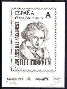 Grabado-Barnafil-2020-n-12-Beethoven-tirada-400-ejemplares-sellos-Espana