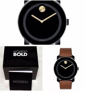 a2331cf27 Movado Bold Mens Watch 3600305 Brand New Free Shipping! Box & Papers ...