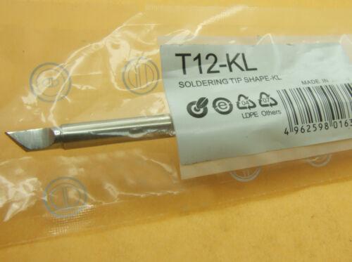 T12 BL ILS KU Series Replace Soldering Iron Tip For HAKKO Handle DIY PCB Repair