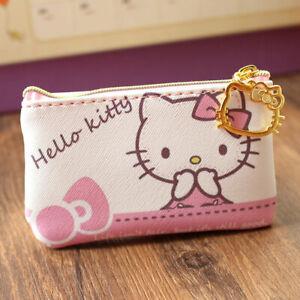 9bc0ccb81 Cute Hello Kitty PU Leather Change Purse Wallet Coin Bag Card Case ...