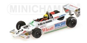 Minichamps 547824392 - Ralt Toyota Rt3 1982 Senna 1er F3 Test Silverstone 1/43