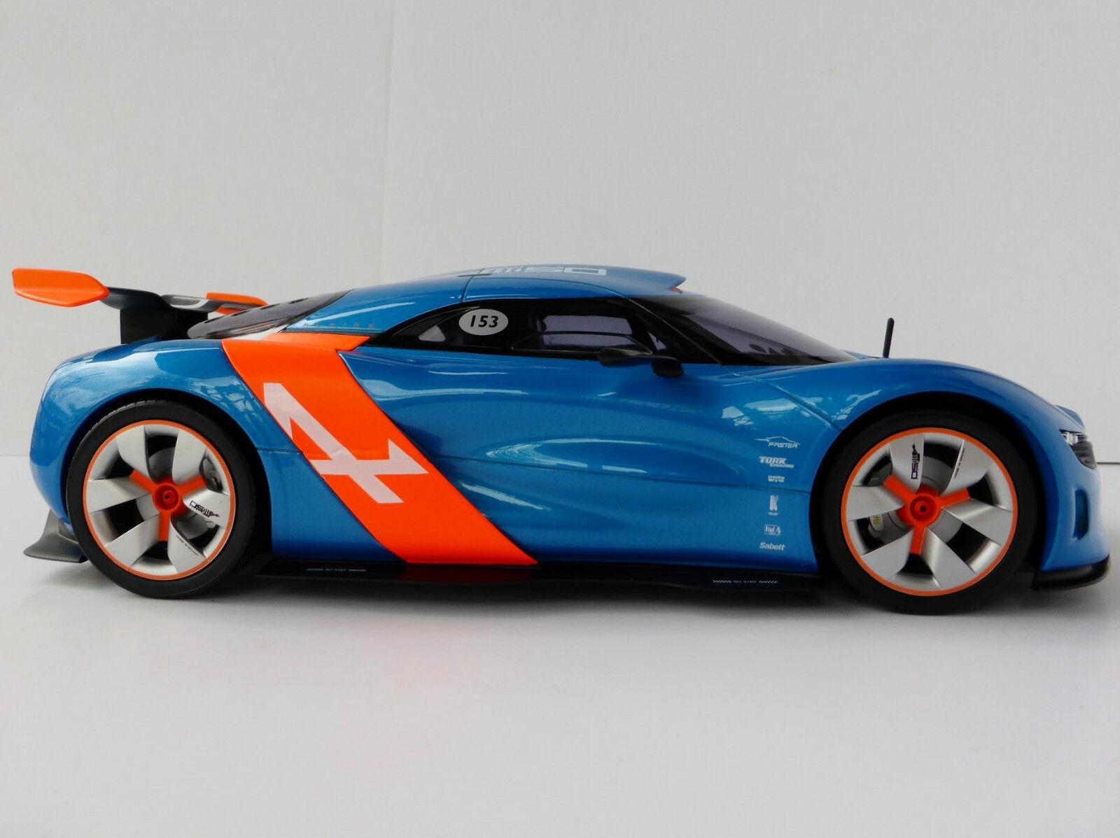 Renault alpine a110-50 blu arancia 1 18 norev 185147 prossootipo a110 a 110