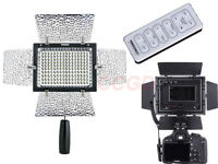 YongNuo YN-160 II LED Video Lamp Light for Nikon Canon SLR Camera DV Camcorder