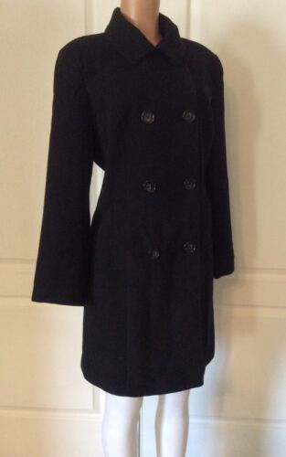Up Nwot Button Nu Venus Coat Størrelse Black 42 L OCq1xwvg