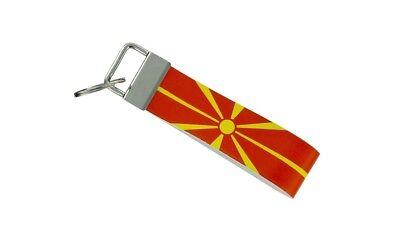 Beautiful Schlüsselanhänger Schlüssel Auto Moto Band Stoff Flagge Haus Tuning Mazedonien Cheapest Price From Our Site