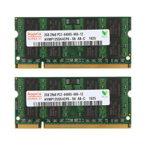 Per Micron 16GB 4 x 4GB 2GB DDR2 800MHz PC2-6400S 200PIN Notebook RAM SODIMM IT