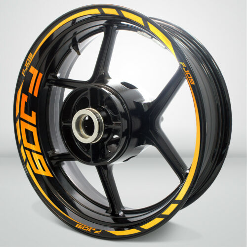 Motorcycle Rim Wheel Decal Accessory Sticker for Yamaha FJ09 Tracer