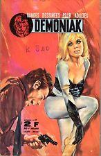 DEMONIAK 7  EDITIONS DE POCHE 4e trimestre 1967 MAGNUS  TRES RARE